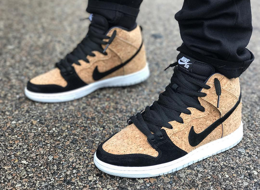 Nike Dunk High SB Cork - @junkieforkixx