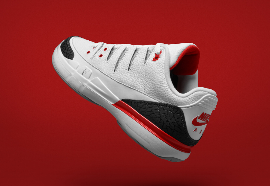 NikeCourt Zoom Vapor RF x AJ3 Fire Red
