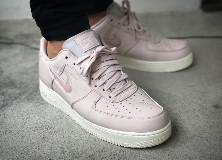 NikeLab Air Force 1 Low Jewel Silt Red - @jonasanmo
