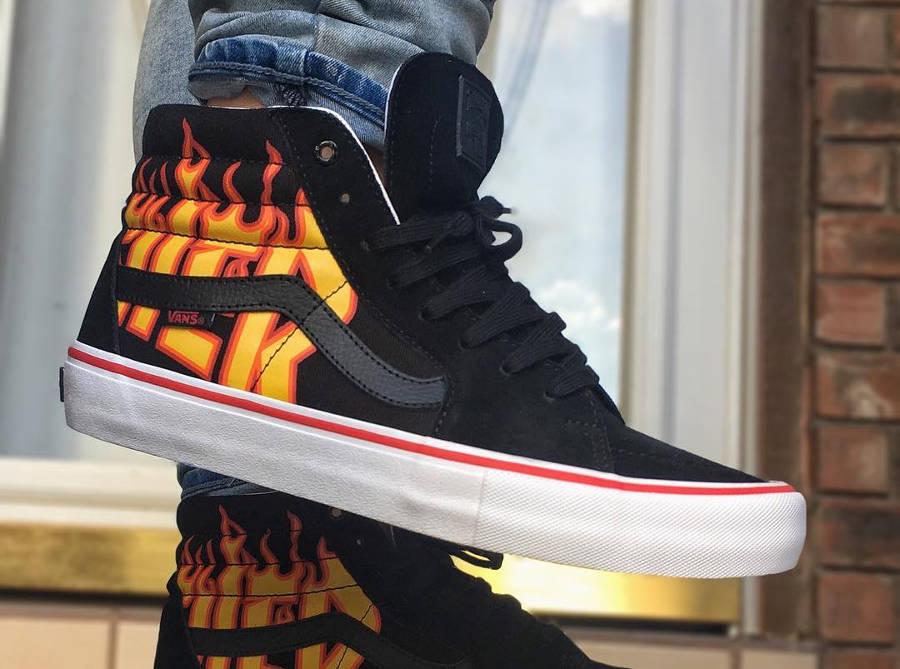 Vans SK8 Hi Pro Thrasher - @sneakerfreak_danny