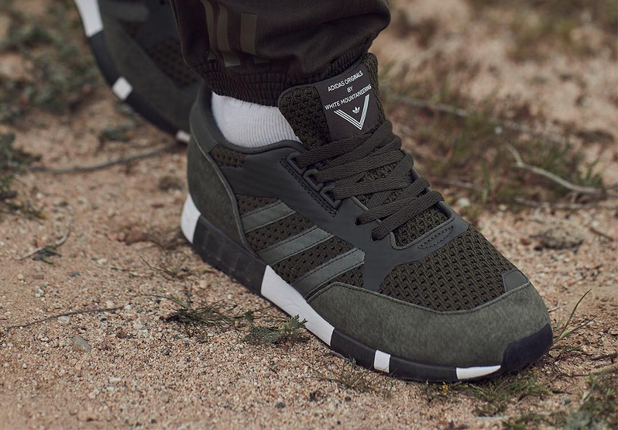 White Mountaineering x Adidas Boston Super Primeknit