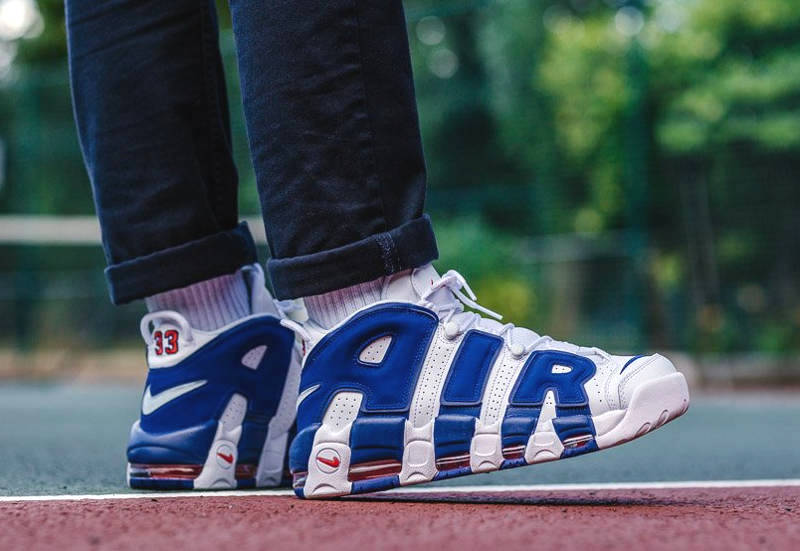 avis chaussure Nike Air More Uptempo 96 The Dunk' Knicks 33 (1)