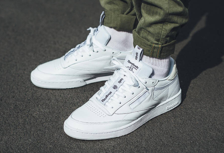 Reebok Club C 85 IT 'White/Skull Grey'