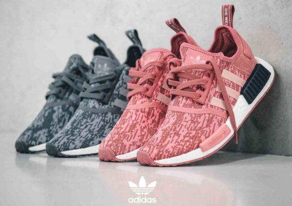 764a7b3432e Adidas NMD R1 W  Digi Camo  Raw Pink   Grey Five
