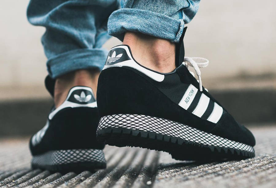 Adidas New York OG 'Core Black Silver'