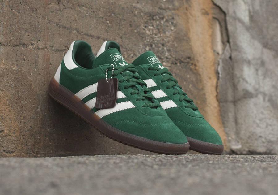 Adidas Intack SPZL Suede 'Dark Green'