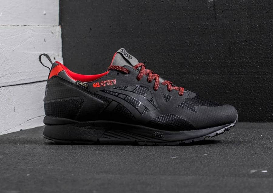asics gel lyte v ns gore tex gt x noire 39 black 39. Black Bedroom Furniture Sets. Home Design Ideas