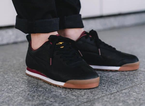 ceac702ad923 Daily Paper x Puma Roma Leather Noire  Africa    notre avis