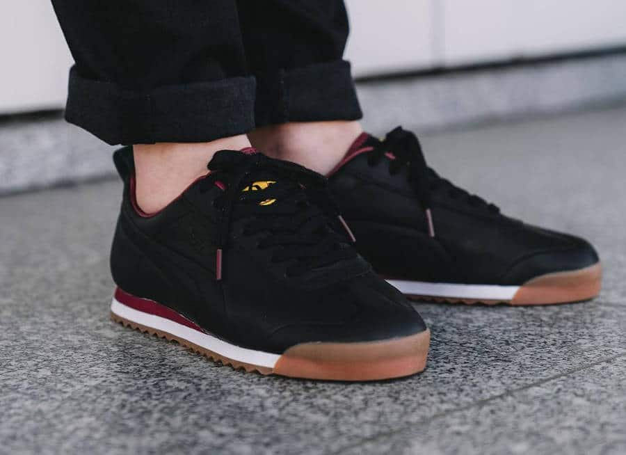 Daily Paper x Puma Roma Leather 'Black'