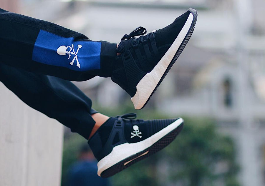 Mastermind x Adidas Equipment Support 'Black & Blue'