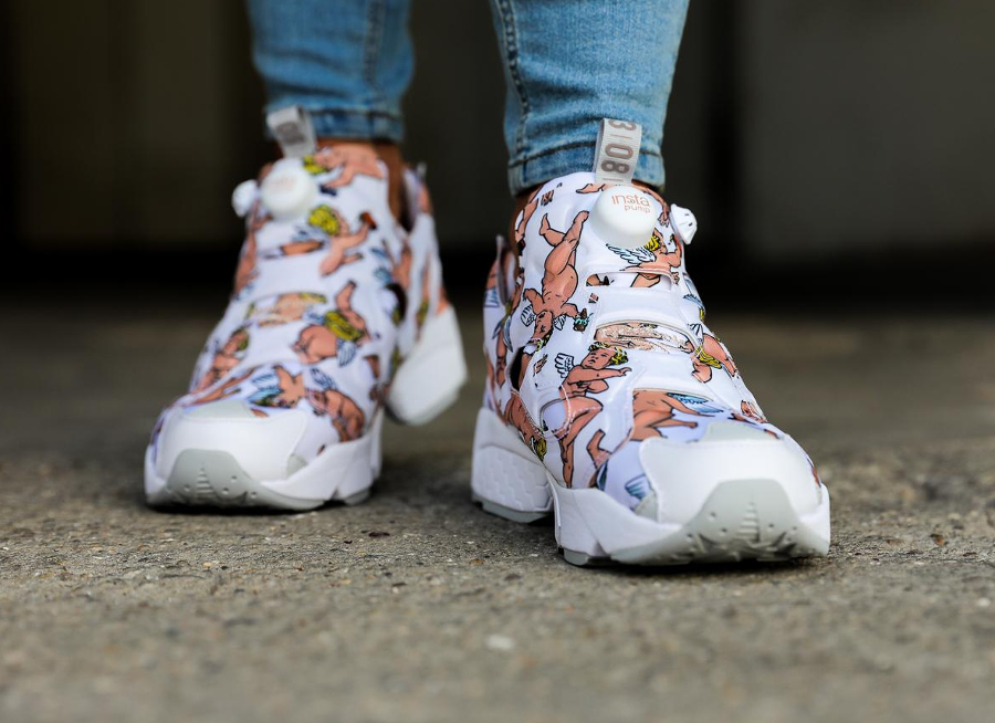 Reebok Insta Pump Fury LA Blanche 'Anges'