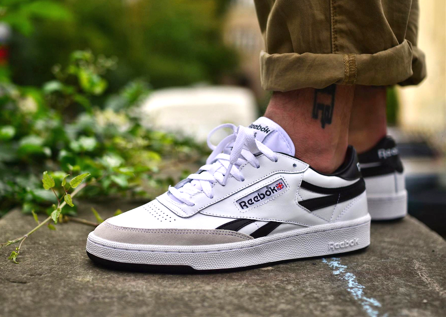 Reebok Revenge Plus TRC 'White Black'