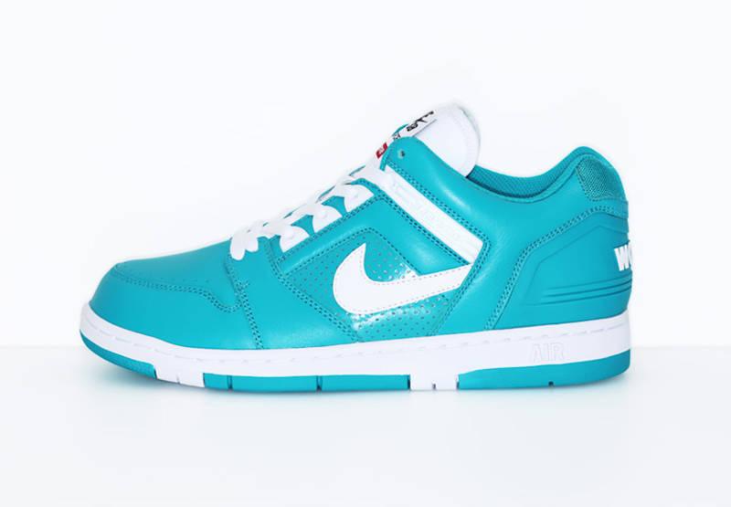 supreme-nike-air-force-ii-emerald-bleu-turquoise-