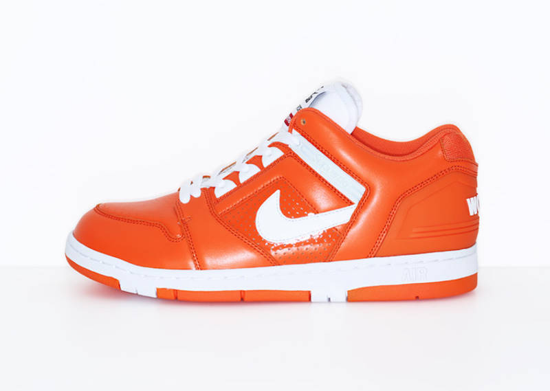 supreme-nike-air-force-ii-orange-blaze