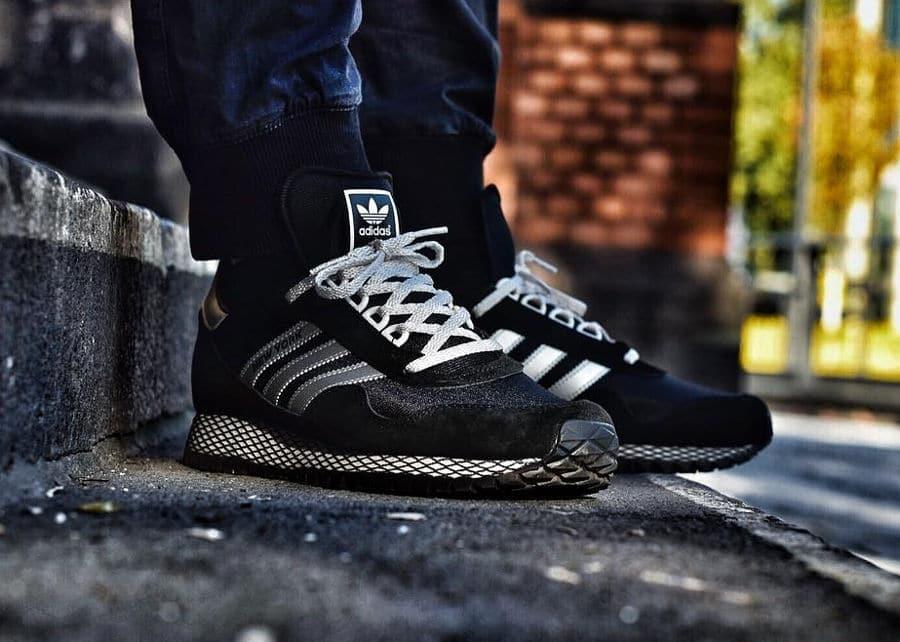 Adidas New York Black Silver Metallic - @sneakersvsmylife