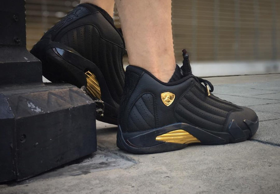 Air Jordan 14 retro Finals Pack - @maydjahlook