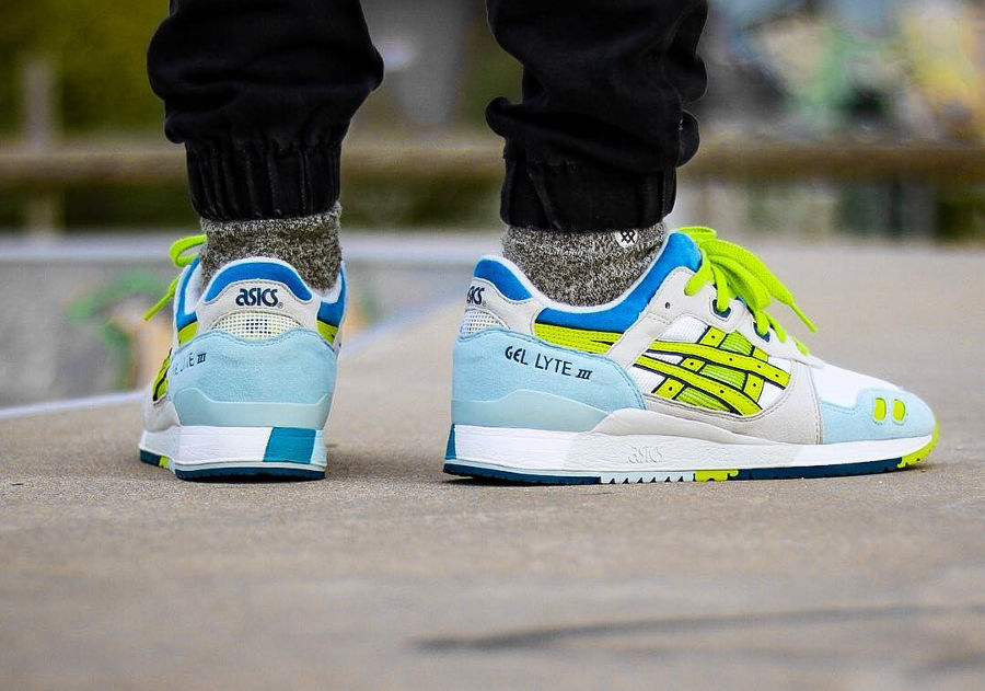 Asics Gel Lyte 3 White Lime (2012) - @guigan713