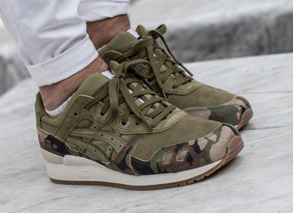 Chaussure Asics Gel Lyte 3 III 'Martini Olive Camo' (homme)