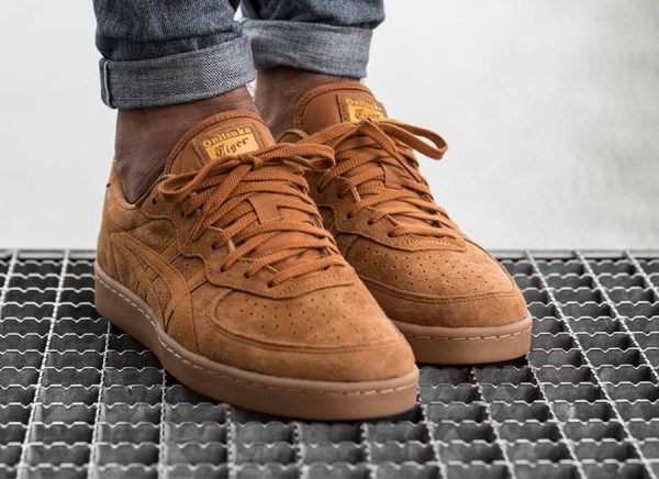 Chaussure Asics Onitsuka Tiger GSM Suede Golden Amber