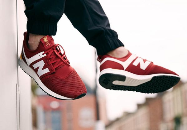 Chaussure New Balance 247 LFC Liverpool Rouge 125 Years