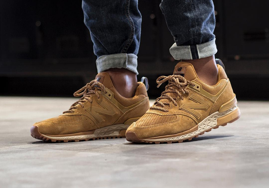 Chaussure New Balance MS574CB Sport Wheat Timberland