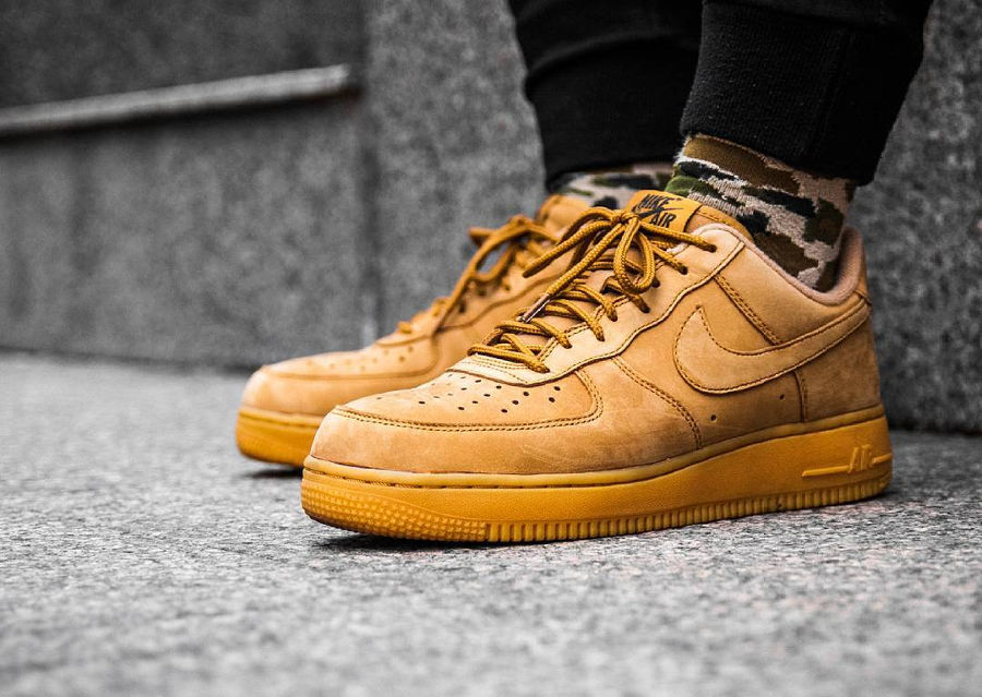 Chaussure Nike Air Force 1 Low '07 WB Flax Wheat