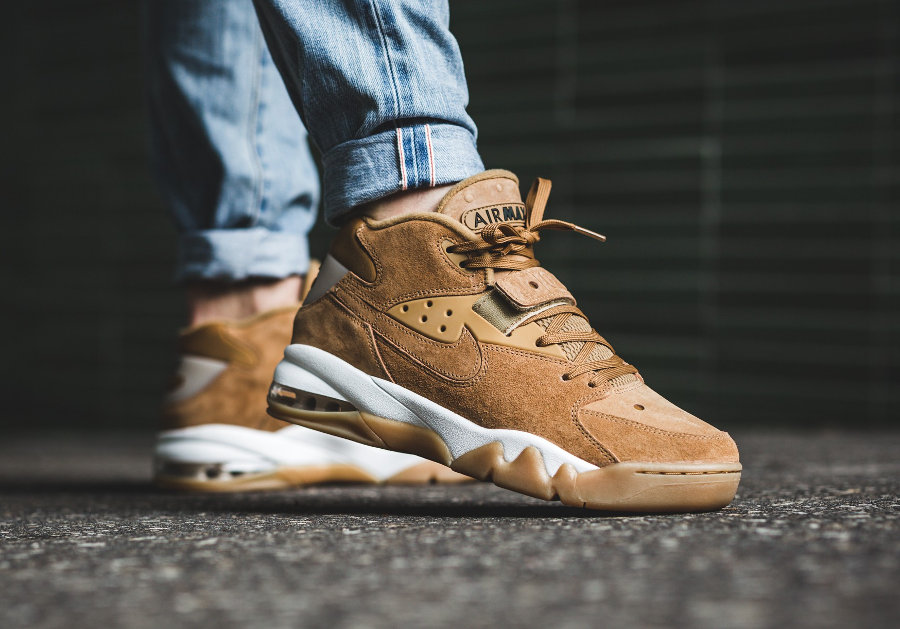 Nike Air Force Max PRM Suede 'Wheat'