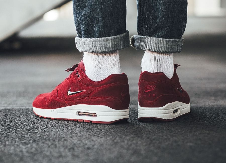 Nike Air Max 1 Premium SC Jewel 'Team Red'