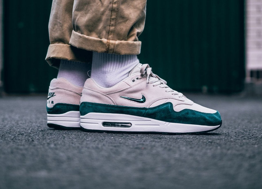 Nike Air Max 1 PRM SC Jewel 'Dark Atomic Teal'