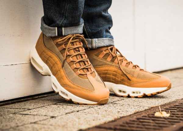 Chaussure Nike Air Max 95 Mid Sneakerboot Wheat Flax (marron)