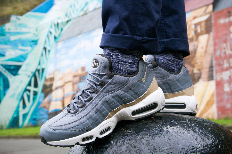 Nike Air Max 95 PRM 'Wool' Cool Grey