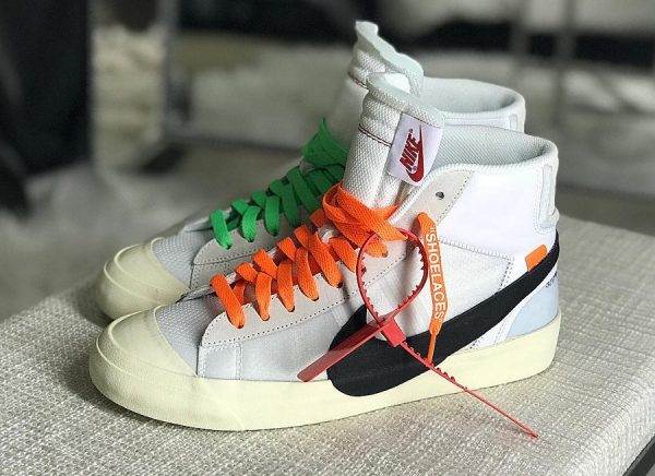 'the Blazer Mid Virgil Abloh Off White Ten 10x' Par Nike X tnIaX