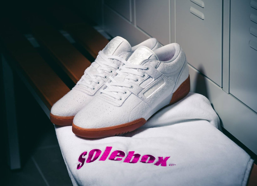 Chaussure Solebox x Reebok Workout Lo Clean TXT CN Year of Fitness