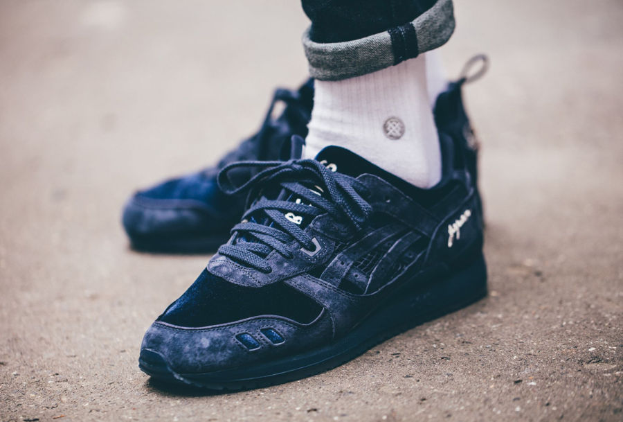 Chaussure avis Beams x Mita x Asics Gel Lyte 3 Japan Souvenir Jacket Navy