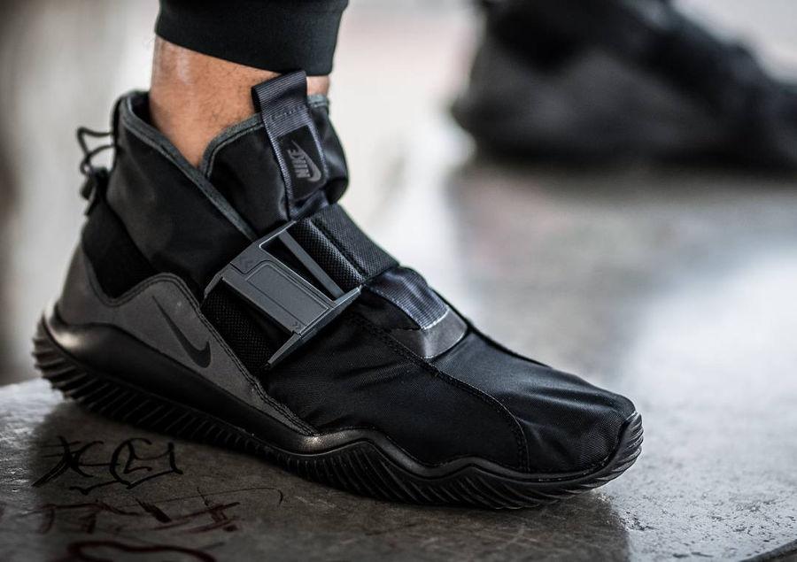 NikeLab KMTR Komyuter Triple Black - @ronnietherealtor