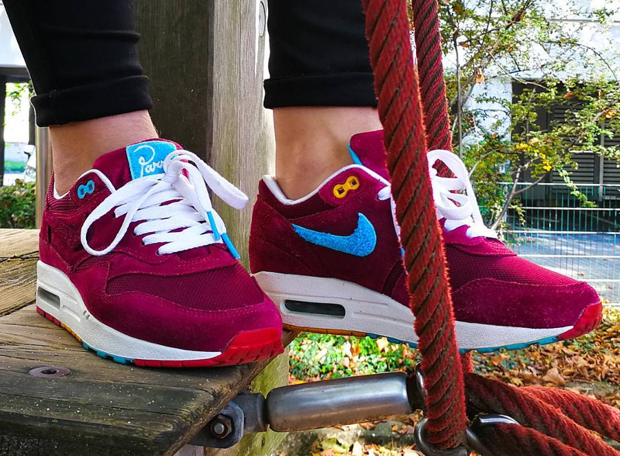 Parra x Patta x Nike Air Max 1 Cherrywood - @marionpocasneakers