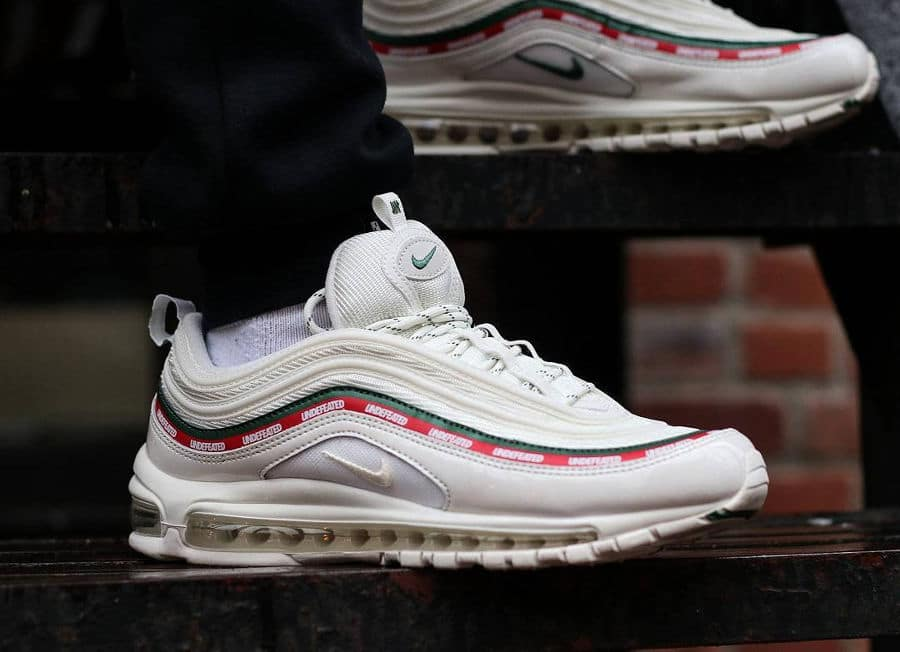 Undefeated x Nike Air Max 97 White - @jchuwhatitdo