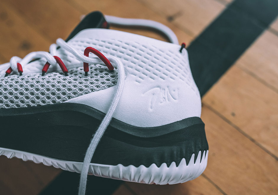 detailed look ef029 56736 adidas-dame-4-alphabounce-white-rip-city-BY3759 (