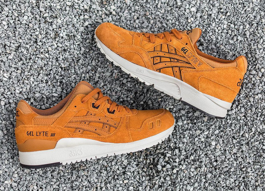 Le pack Asics Tiger Gel Lyte 'Honey Ginger'