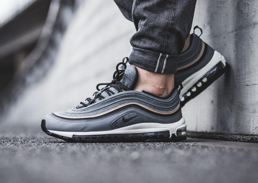 Nike Air Max 97 PRM 'Wool' Cool Grey Mushroom