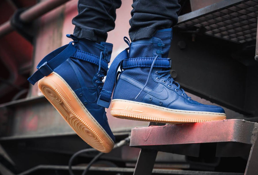 Nike Air Force 1 Special Field 'Midnight Navy'