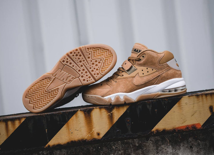 Nike Air Force Max Barkley Premium 'Wheat Flax' (marron)