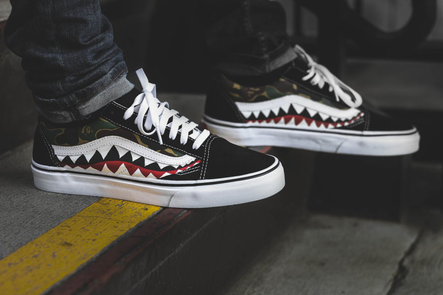 basket-bape-vans-old-skool-shark-camouflage (2)