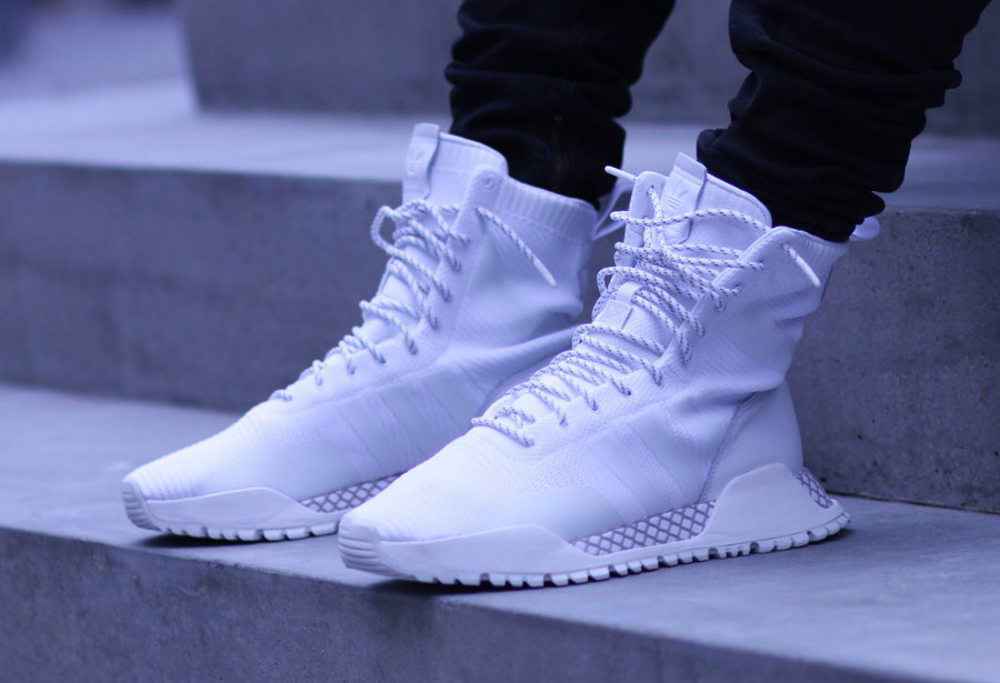 Adidas F 1 3 Boot Pk Atric Noire Et Blanche