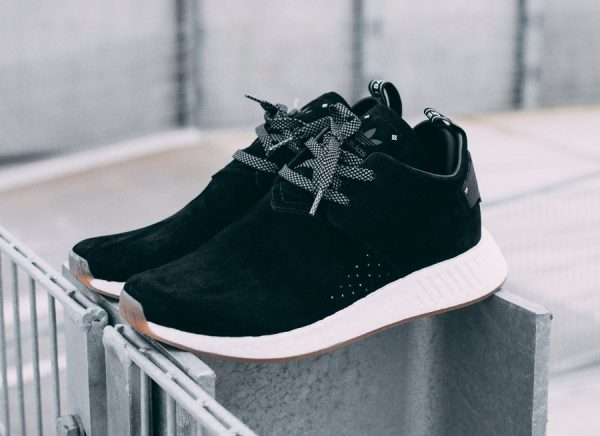 quality products temperament shoes super quality Adidas NMD_C2 Chukka Suede Noire et Marron