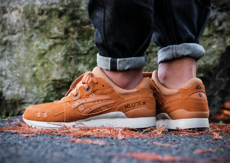 chaussure-asics-gel-lyte-3-iii-suede-ginger-honey-HL7U2 3131 (3)