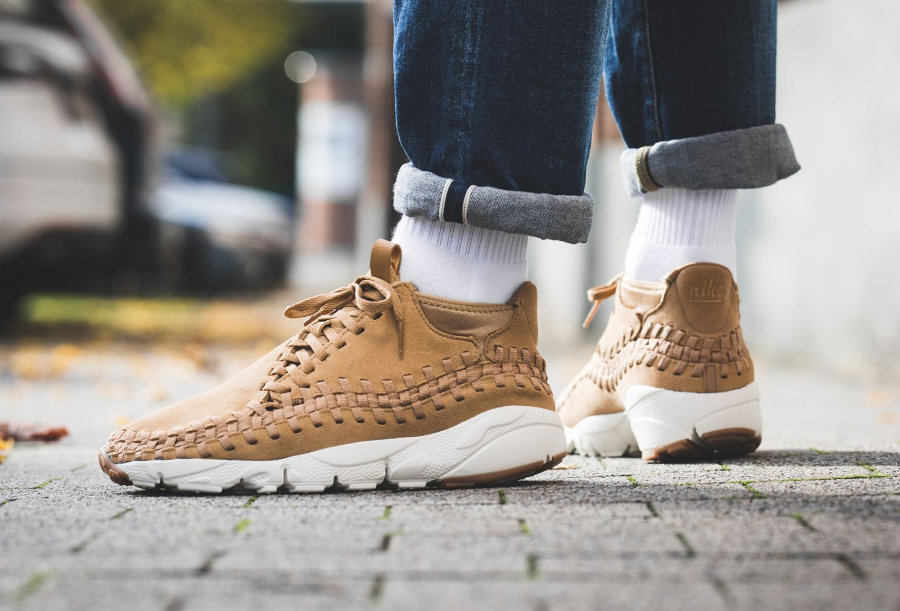 Nike Air Footscape Woven Chukka 'Wheat'