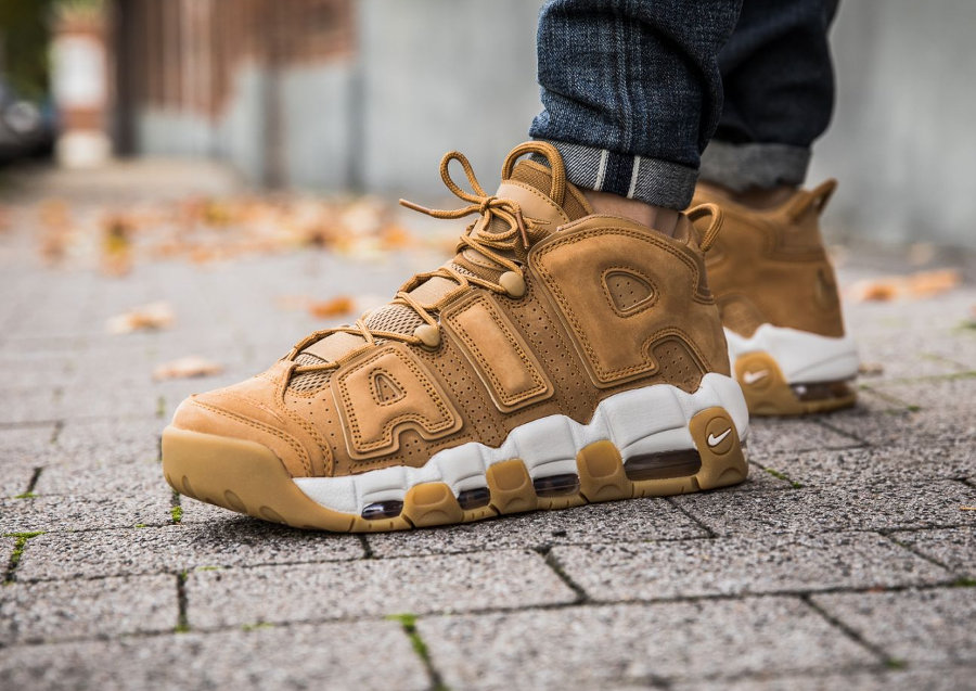 Nike Air More Uptempo 'Wheat'