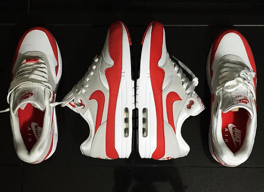Air Max 1 OG Anniversary Red 2017 mars & septembre : le
