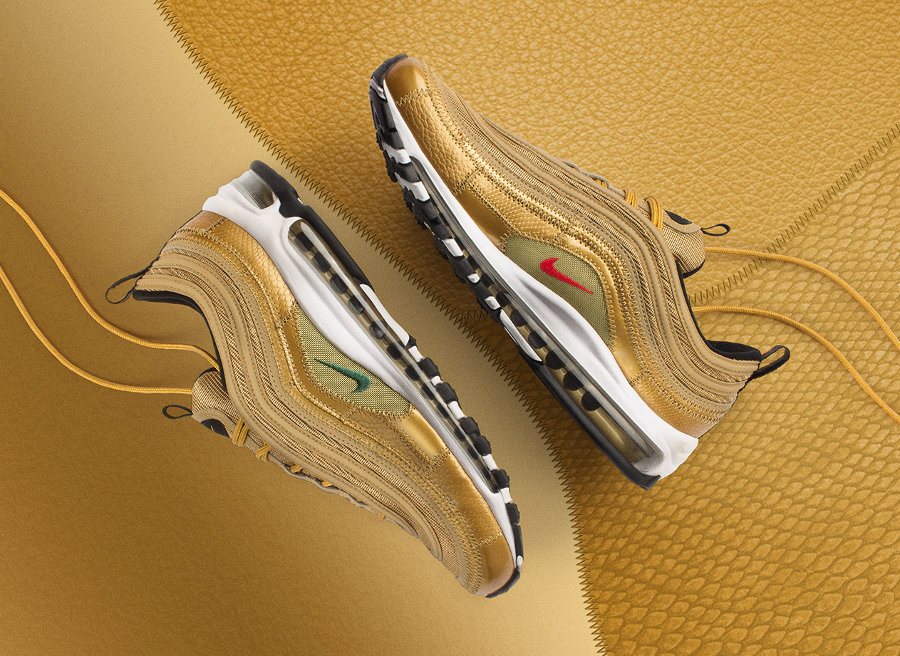 Nike Air Max 97 Metallic Gold 'Cristiano Ronaldo'